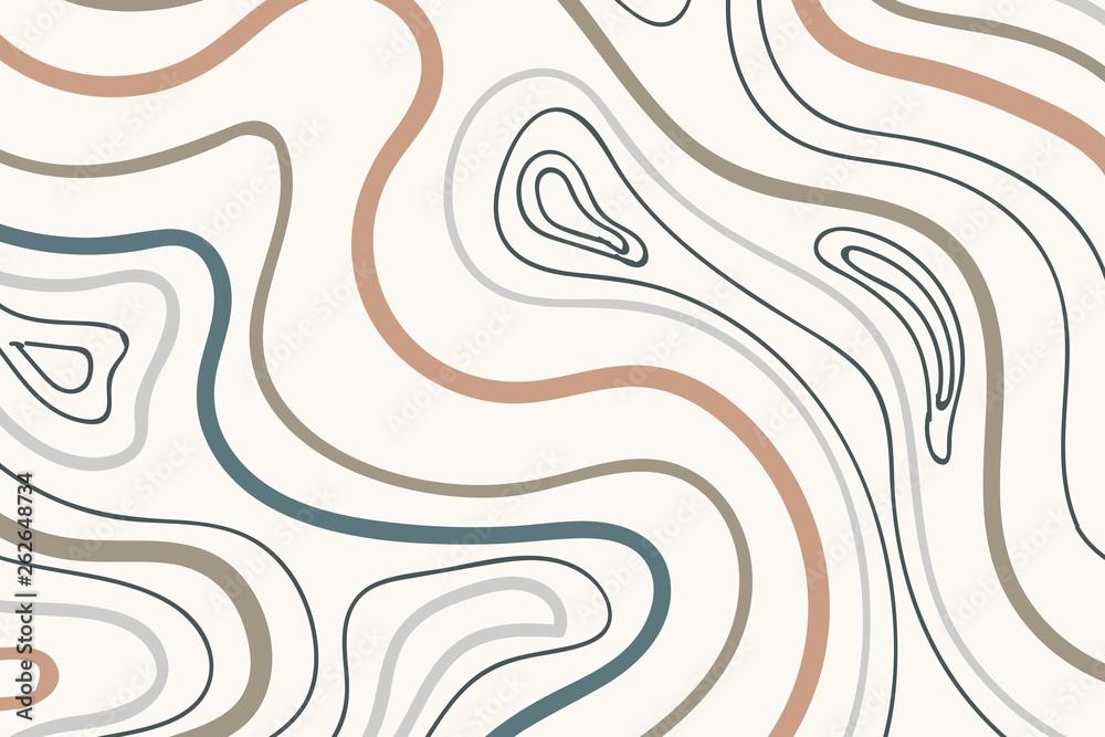 Fototapety, obrazy: Earth tone patterned background
