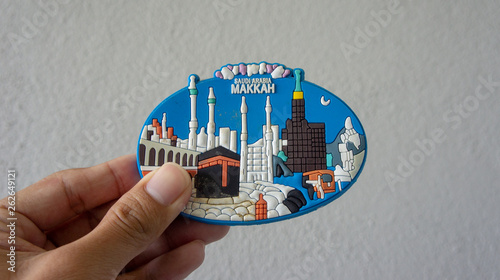 Fridge magnet from Mecca,Saudi Arabia