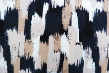 Colorful Fabric Closeup Abstract Background Black White Yellow