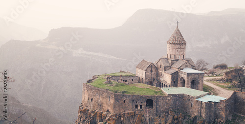 Canvas-taulu Ancient monastery Tatev in Armenia.