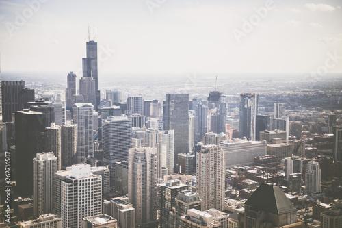 Chicago city life landscape
