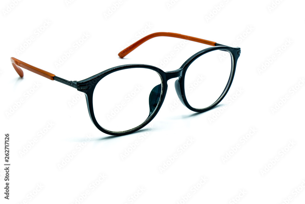 Fototapety, obrazy: Round Glasses Women.Already used The image is sharp close.Is a good background.Suitable for use.