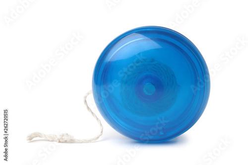 Foto  Blue yo-yo toy