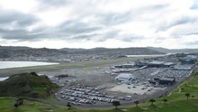 I View Of Wellington Airport From A Hill. The Last 15 Seconds Are The Busiest Part Of The Timelapse If That's What Your'e Going For :)