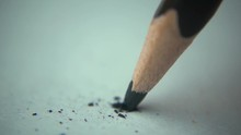 Tip Of A Pencil Breaking