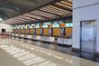 interior of railway station
