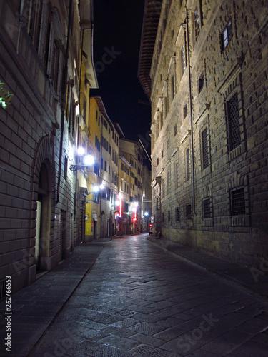 Fototapeten Schmale Gasse Florence, Italy