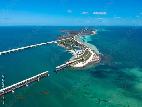 Road 1 to Key West in Florida Keys, USA Canvas-taulu