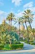 Villa Bonanno public garden in Palermo