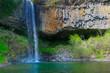 Cascades des Pourcheyrolles bei Montpezat sous Bauzon