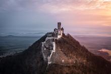 Bezděz Castle Is A Gothic Castle Located Some 20 Kilometres (12 Mi) Southeast Of Česká Lípa, In The Liberec Region, Northern Bohemia, Czech Republic. Its Construction Began Before