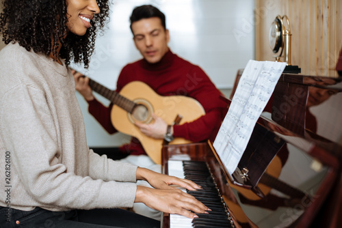 Young black piano players girls naked