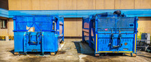 Press Container Waste Compress...