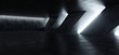 Sci Fi Modern Concrete Cement Dark Empty Asphalt Reflective Grunge Hall Room Corridor Tunnel Spaceship Glowing White Cinematic Daylight Rays Glow 3d Rendering