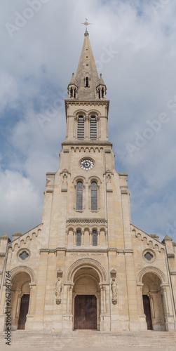 Basilique Saint Denys d'Argenteuil dans le Val d'Oise Canvas Print