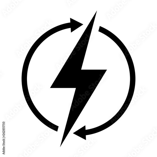 Renewable energy vector symbol - Buy this stock vector and