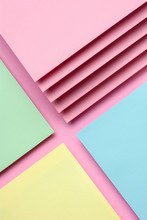 Colorful Polygon Paper Design