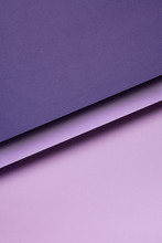 Purple Paper Shapes Design
