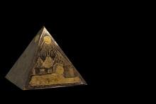 Figurine Of Bronze Egyptian Py...