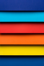 Colorful Folded Paper Design