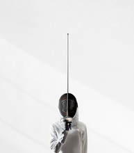 Fencer Ready To Fight