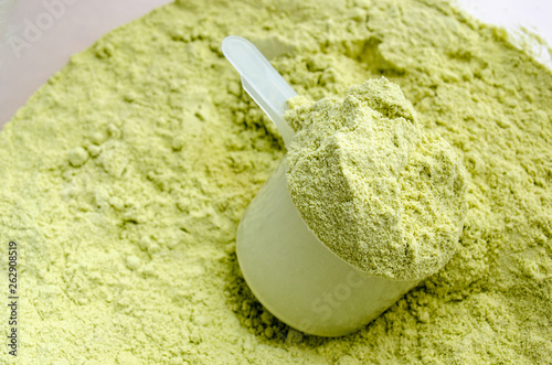 Photo  Green Tea Whey Protein