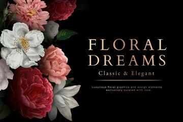 Kartica cvjetnih snova