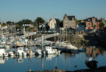 Fototapeta na wymiar Piriac-sur-Mer, Loire-Atlantique, France