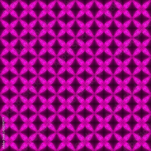 Keuken foto achterwand ZigZag purple and black light pattern background and texture.
