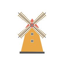 Windmill Traditional Rural Win...