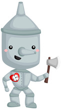 A Vector Of Tinman From Wizard...