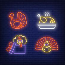 Thanksgiving Turkey Neon Sign ...