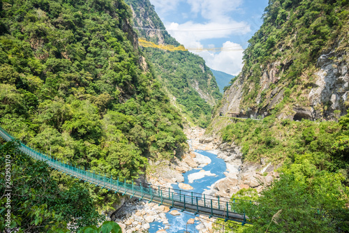 View of Taroko Gorge in Hualien, Taiwan Wallpaper Mural