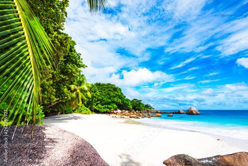Fotografie, Obraz  Paradise beach at anse lazio on the seychelles 57