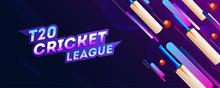 T20 Cricket League Header Or B...