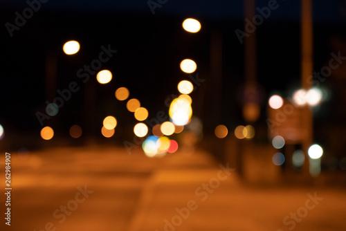 Fotografia, Obraz  Nachtstrasse Nacht Bucke