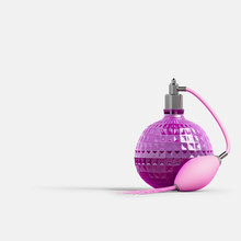 Purple Vintage Perfume Bottle ...