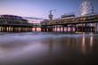 Pier at Scheveningen Beach Den Haag, In the Netherlands
