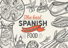 Spanish Illustrations - Tapas,...