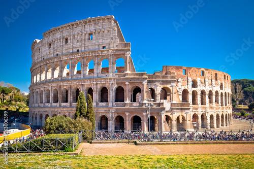 Poster Rome Colosseum of Rome scenic view
