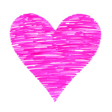 Abstract Bright Colorful Heart...