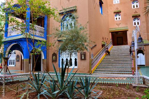 Obraz piękny dom w Maroko - fototapety do salonu