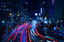 Night Time Lapse Urban Street ...