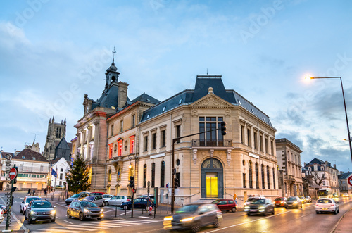 Fototapety, obrazy: Meaux city hall in France, Paris region