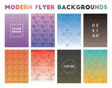 Modern Flyer Backgrounds. Admi...
