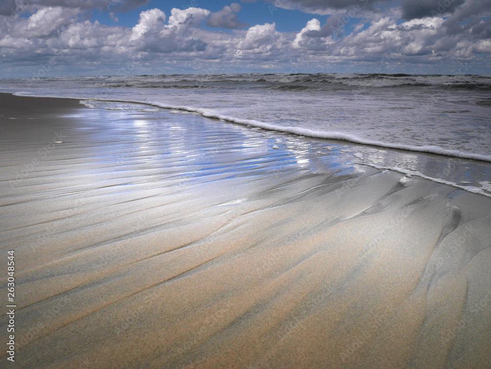 Fototapeta Morze Bałtyckie - Plaża - mierzeja wiślana