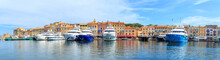 Boats In A Port Of Saint Tropez, France