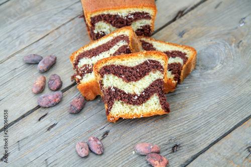Fényképezés cake marbré