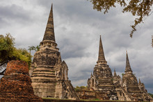 Ayutthaya, The Ancient City. Bangkok, Thailand