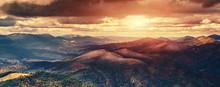 Majestic Mountain Landscape. S...